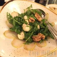 Insalata di rucola al gorgonzola pasquale