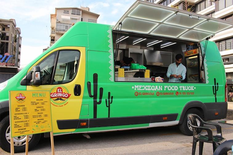 El Gringo Food Truck Menu