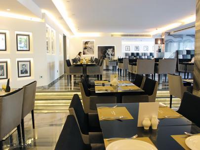 Restaurant at the Royal Tulip