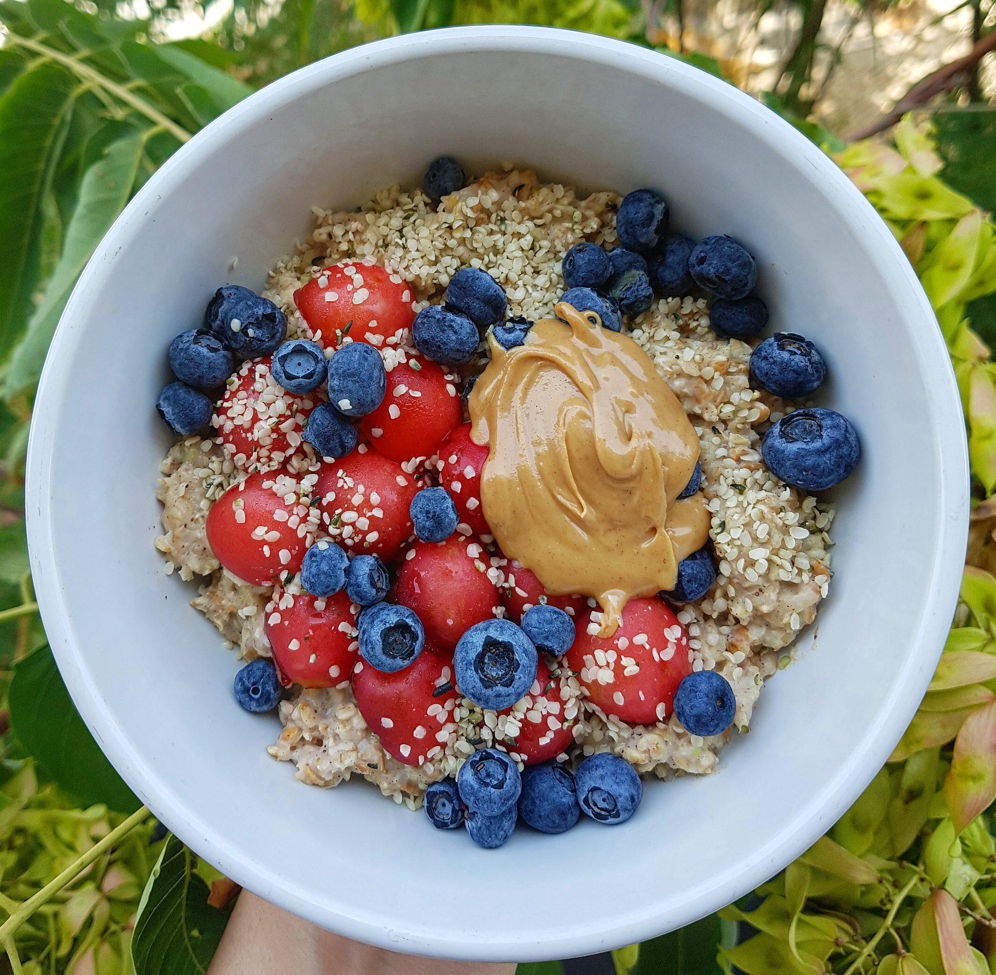Very Berry Porridge
